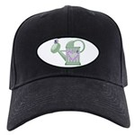 butteryfly and watering can design.png Black Cap