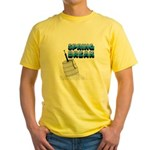 spring break keg.png Yellow T-Shirt