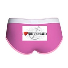 I Love Motorboatin Women's Boy Brief