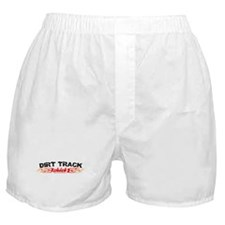 Dirt Track Chick Boxer Shorts