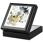 Eskimo Dog Art Keepsake Box