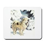 Eskimo Dog Art Mousepad