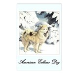 Eskimo Dog Art Postcards (Package of 8)