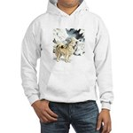 Eskimo Dog Art Hooded Sweatshirt
