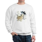Eskimo Dog Art Sweatshirt
