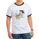 Eskimo Dog Art Ringer T