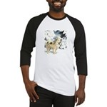 Eskimo Dog Art Baseball Jersey