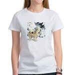 Eskimo Dog Art Women's T-Shirt