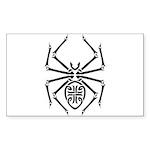 tribal spider design.png Sticker (Rectangle 10 pk)
