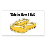 rolls.png Sticker (Rectangle 10 pk)