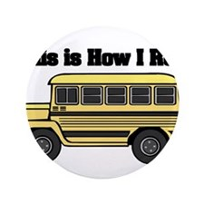 "short yellow bus.png 3.5"" Button (100 pack)"