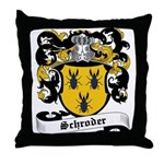 Schroder Coat of Arms Throw Pillow
