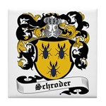 Schroder Coat of Arms Tile Coaster