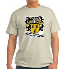 Schroder Coat of Arms Ash Grey T-Shirt