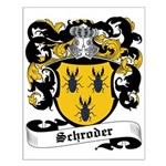 Schroder Coat of Arms Small Poster