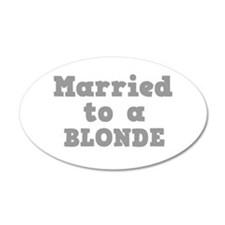 BLONDE.png Wall Sticker
