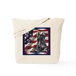 Scotty Flag USA Tote Bag