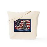 Scottish Terrier Dog Flag USA Tote Bag