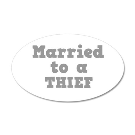 THIEF.png 35x21 Oval Wall Decal