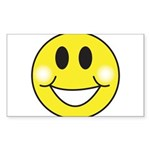 smiley-face.png Sticker (Rectangle 10 pk)