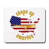 Shape Up America Mousepad