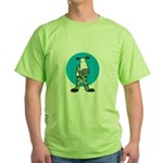 military cow in camo copy.jpg Green T-Shirt