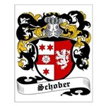 Schober Coat of Arms Small Poster