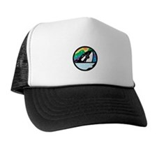 orca killer whale circle design copy.jpg Trucker Hat