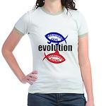 RELIGIOUS EVOLUTION Jr. Ringer T-Shirt