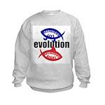 RELIGIOUS EVOLUTION Kids Sweatshirt