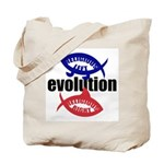 RELIGIOUS EVOLUTION Tote Bag