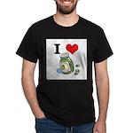 green olives.jpg Dark T-Shirt