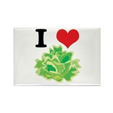 lettuce.jpg Rectangle Magnet (100 pack)