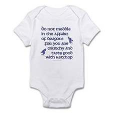 Affairs of Dragons (English) Infant Bodysuit
