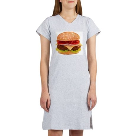 yummy cheeseburger photo Women's Nightshirt