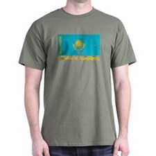 Republic of Kazakhstan Black T-Shirt