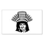 indian head copy.jpg Sticker (Rectangle 10 pk)