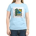 cactus scene copy.jpg Women's Light T-Shirt