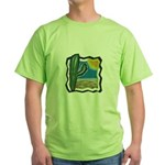 cactus scene copy.jpg Green T-Shirt