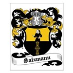 Salzmann Coat of Arms Small Poster