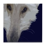 Afghan Hound Tile Coaster