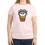 cute little girl snow cone.png Women's Light T-Shi