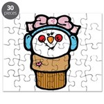 cute little girl snow cone.png Puzzle