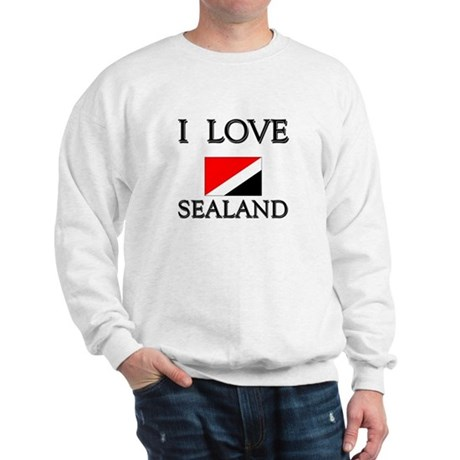 I Love Sealand Sweatshirt