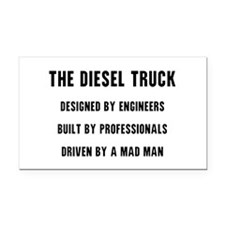 The Diesel Truck Rectangle Car Magnet
