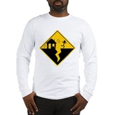 Earthquake Warning Long Sleeve T-Shirt