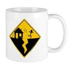 Earthquake Warning Mug
