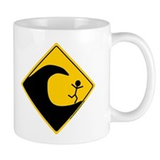 Tsunami Warning Mug