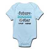 Personalized Future Soccer Star Infant Bodysuit
