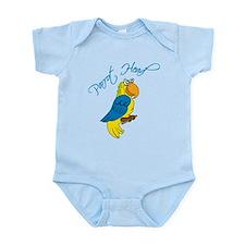 Parrot Head Infant Bodysuit